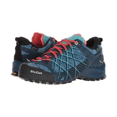 Salewa サレワ レディース 女性用 シューズ 靴 スニーカー 運動靴 Wildfire GTX - Poseidon/Capri