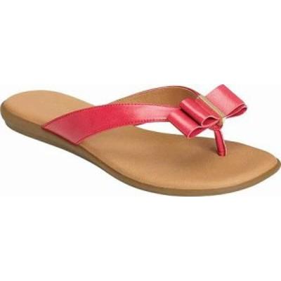 Aerosoles レディースサンダル Aerosoles Mirachle Thong Sandal Pink Faux L