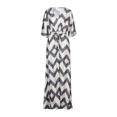 MIKI THUMB ロングワンピース&ドレス サンド M レーヨン 75% / シルク 25% ロングワンピース&ドレス