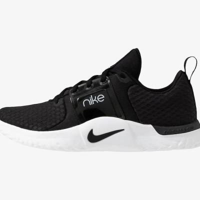 ナイキ レディース スポーツ用品 RENEW IN-SEASON TR 10 - Sports shoes - black/dark smoke grey/white