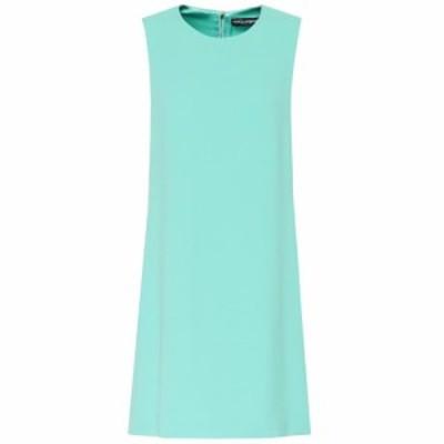 ドルチェandガッバーナ Dolce and Gabbana レディース ワンピース シフトドレス ワンピース・ドレス Cady shift dress Water Green