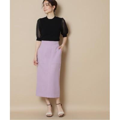 (N Natural Beauty Basic/エヌナチュラルビューティベーシック)カルゼポケットタイトスカート《S Size Line》/レディース ピンク1