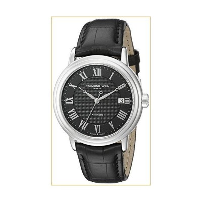 Raymond Weil Men's 2837-STC-00208 Stainless Steel Watch with Black Band 並行輸入品