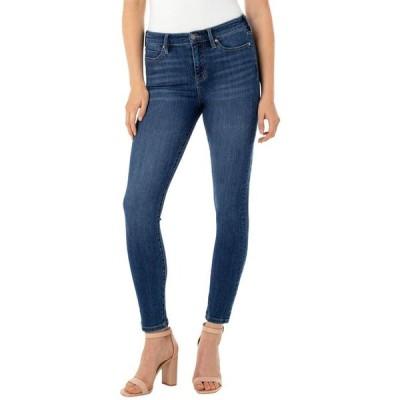 リバプール レディース デニムパンツ ボトムス Petite Abby Ankle Jeans in Bronte