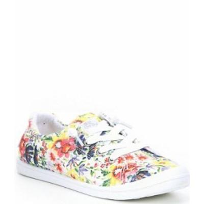 ロキシー レディース スニーカー シューズ Bayshore III Canvas Floral Slip-On Sneakers Worn Vintage Floral