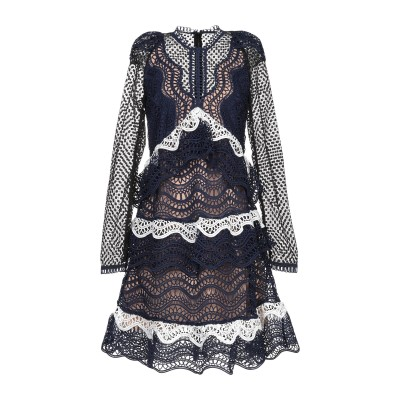 オディエアモ ODI ET AMO ミニワンピース&ドレス ブルー XS コットン 100% ミニワンピース&ドレス