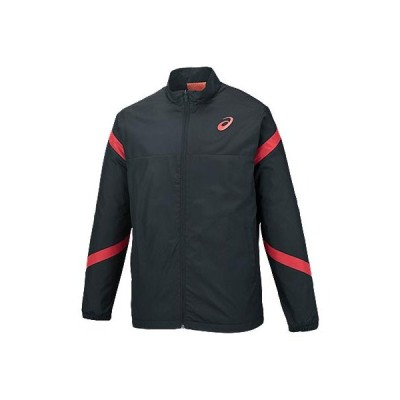 (アシックス)ウインドジャケット トレーニングウエア ブレーカーシャツ Xb732N.90B B B