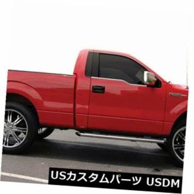 2009-13フォードF-150レギュラーキャブ[2pc研磨済み]プレミアムFX用窓枠成形