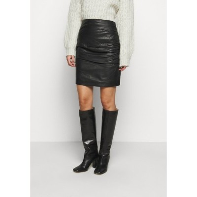 セカンド デイ スカート レディース ボトムス CLARISSE THINKTWICE - Mini skirt - black