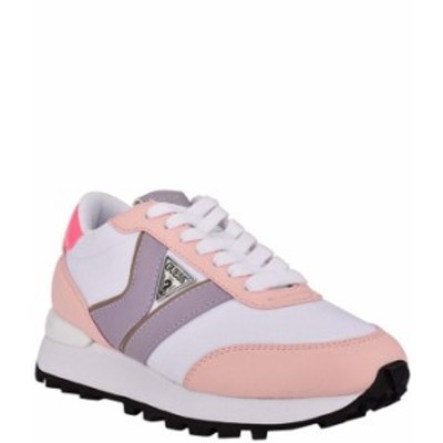 ゲス レディース スニーカー シューズ Samsin3 Colorblock Lace-Up Sneakers Pink/Multi