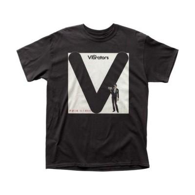 Tシャツ ヴァイブレーターズ The Vibrators Pure Mania Licensed Adult T Shirt