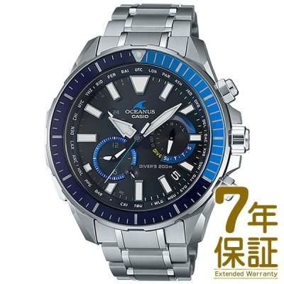 【正規品】CASIO カシオ 腕時計 OCW-P2000-1AJF メンズ OCEANUS オシアナス CACHALOT カシャロ Bluetooth対応 電波ソーラー