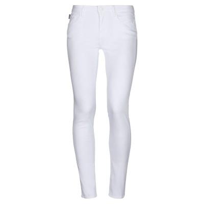 ラブ モスキーノ LOVE MOSCHINO パンツ ホワイト 30 コットン 98% / ポリウレタン 2% パンツ