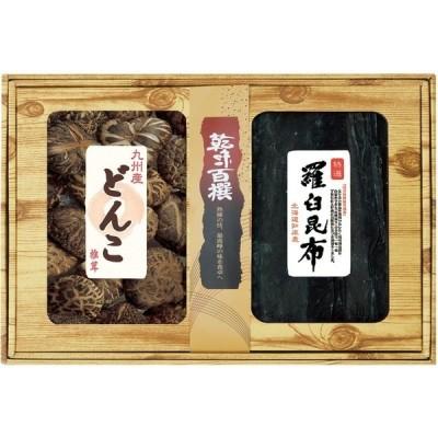 乾味百撰 九州産どんこ椎茸・羅臼昆布  GEE-100 | のし無料 内祝い ギフト
