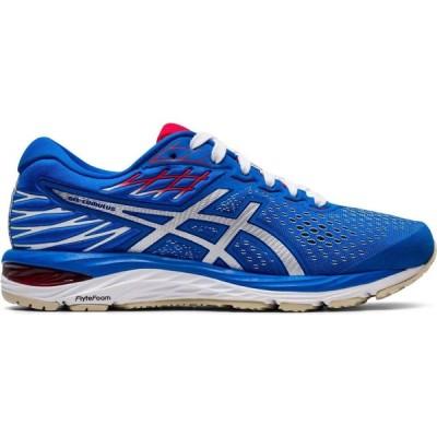 アシックス Asics レディース ランニング・ウォーキング シューズ・靴 Gel Cumulus 21 Running Shoes Blue/White RT