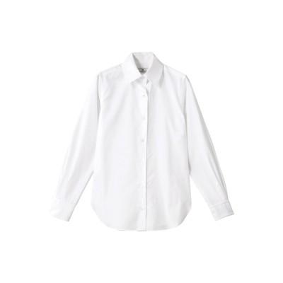 allureville アルアバイル TM ベーシックシャツ レディース ホワイト 2