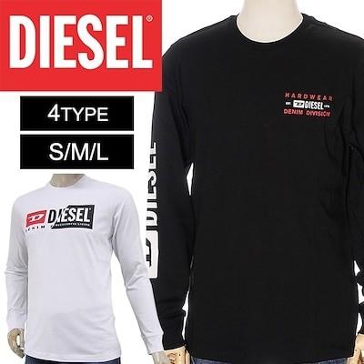 DIESEL/ディーゼルロング ティーシャツ 長袖 A00355 0AAXJ