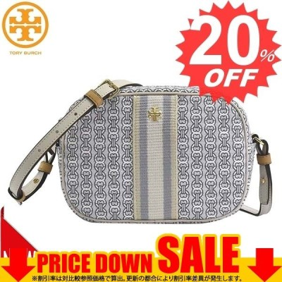 トリーバーチ 斜め掛けバッグ TORY BURCH GEMINI LINK CANVAS 57743 GEMINI LINK CANVAS MINI BAG 58 NEW IVORY GEMINI LINK    比較対照価格30,800 円