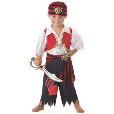 Ahoy Matey パイレーツ Toddler コスチューム Toddler (3-4)(海外取寄せ品)