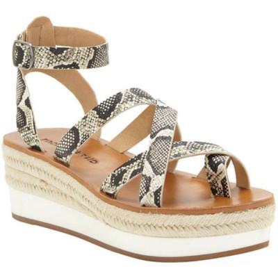 ラッキーブランド サンダル シューズ レディース Jakina Espadrille Wedge Strappy Sandal (Women's) Natural Alamera Synthetic