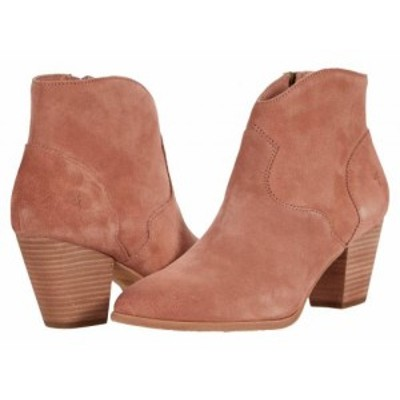 Frye フライ レディース 女性用 シューズ 靴 ブーツ アンクル ショートブーツ Reed Bootie Light Rose Suede【送料無料】
