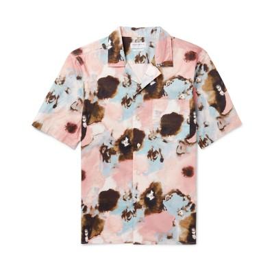 PRESIDENT'S シャツ ピンク M コットン 100% シャツ