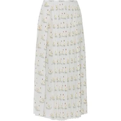 ステラ マッカートニー STELLA McCARTNEY ロングスカート ライトグレー 40 シルク 100% ロングスカート