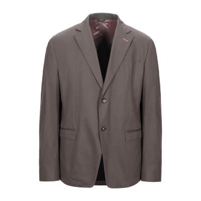 JULIAN KEEN テーラードジャケット カーキ 56 コットン 97% / ポリウレタン 3% テーラードジャケット