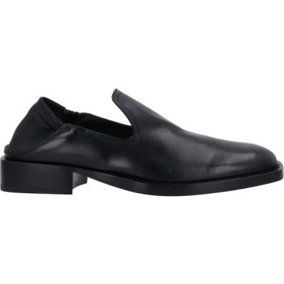 アンドゥムルメステール ANN DEMEULEMEESTER メンズ ローファー シューズ・靴 loafers Black