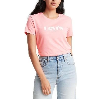 リーバイス Tシャツ トップス レディース Plus Size Perfect Logo T-Shirt New Logo Eony