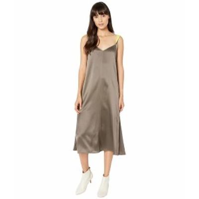 ラグアンドボーン レディース ワンピース トップス Colette Slip Dress Grey Moss