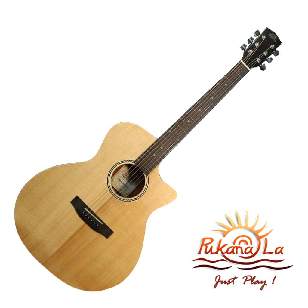 Pukanala民謠吉他 PG-ASGA-C 全單板 超高CP值  鋼弦吉他 - 【他,在旅行】