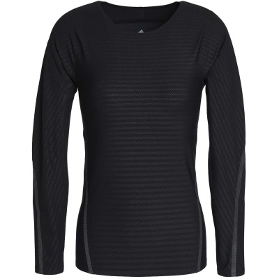 アディダス ADIDAS T シャツ ブラック XS ナイロン 71% / ポリウレタン 29% T シャツ