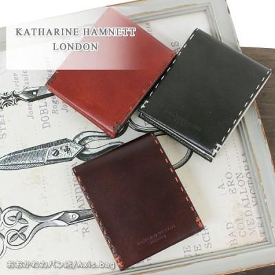 オリジナルエコバッグプレゼント キャサリンハムネット ロンドン KATHARINE HAMNETT LONDON 2つ折り財布 COLOR TAILORED II カラーテーラードII 490-58704