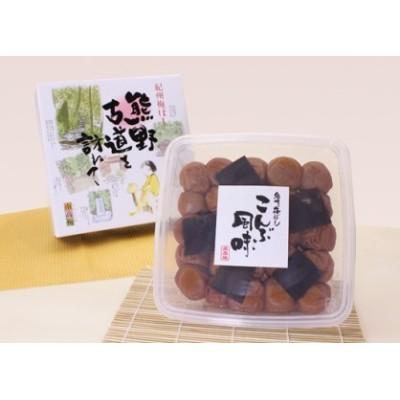 H009 熊野古道を訪ねて こんぶ風味(化粧箱タイプ)