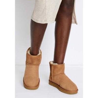 アグ ブーツ&レインブーツ レディース シューズ CLASSIC MINI II - Classic ankle boots - chestnut