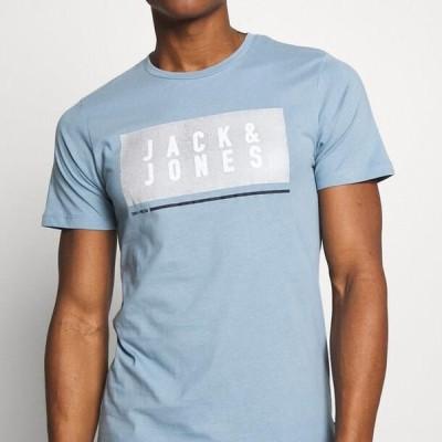 ジャックアンドジョーンズ メンズ ファッション JCOSEAD TEE CREW NECK - Print T-shirt - faded denim