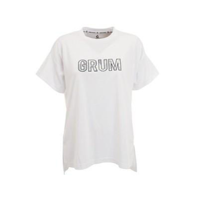 ジローム(GIRAUDM) ドライプラス UVプリント半袖Tシャツ 864GM0HD2477 WHT オンライン価格 (レディース)