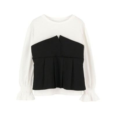 tシャツ Tシャツ 【Riche glamour】長袖カットソー