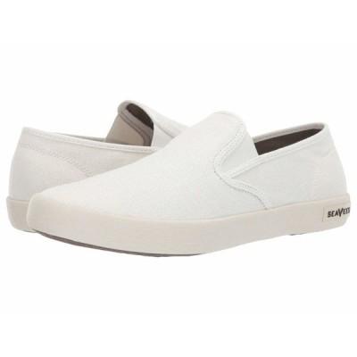 シービーズ スニーカー シューズ メンズ Baja Slip-On Standard White