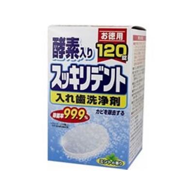 ライオンケミカル/スッキリデント入れ歯洗浄剤120錠/49110009