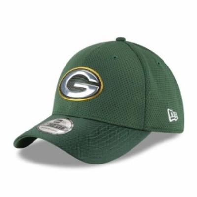 New Era ニュー エラ スポーツ用品  New Era Green Bay Packers Green Kickoff Baycik Reverse 39THIRTY Flex Hat