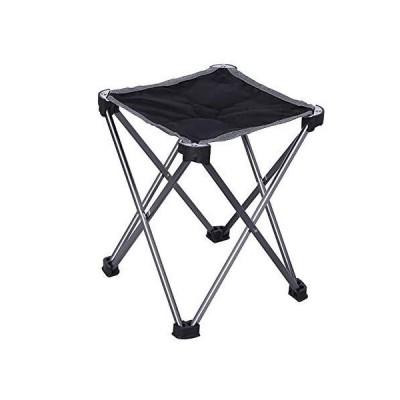 D Fish Chair Aviation Aluminum Mazar Four-Corner Stool Folding Portable Sto