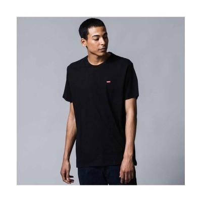 【リーバイス】 リーバイスロゴTシャツ COTTON + PATCH BLACK メンズ BLACKS XL- Levi's