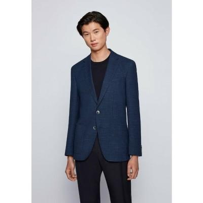 ボス ジャケット&ブルゾン メンズ アウター Blazer jacket - blue