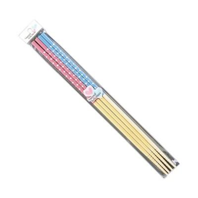 箸 カラー水玉菜箸2P33cm まとめ買い20個セット 7-31-02