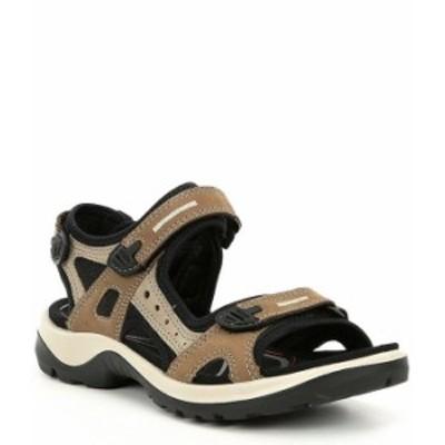 エコー レディース サンダル シューズ Yucatan Adjustable Strap Leather Sandals Birch