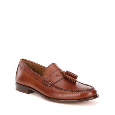 コールハーン メンズ ドレスシューズ シューズ Men's Pinch Handsewn Tassel Block Heel Loafers British Tan