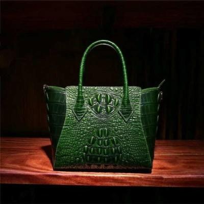バッグ ハンドバッグ レディース Luxury Genuine leather women's Crocodile Embossed shoulder bag handbag Tote FJ82