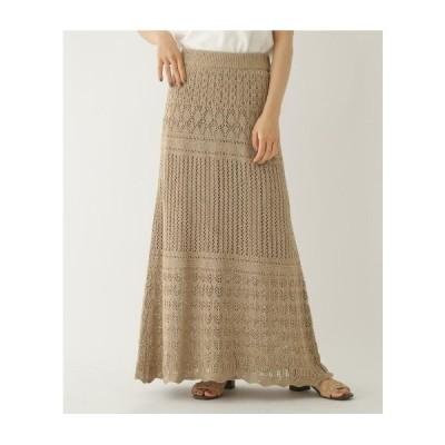 OZOC(オゾック)クロシェロングスカート